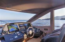 Absolute Yachts 64 Flybridge Helm Electronics