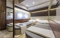 Absolute Yachts 64 Flybridge Bunk Cabin