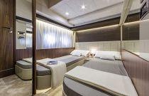 Absolute Yachts 64 Flybridge Bunk Cabin