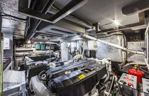Absolute 58 Navetta Engine Room