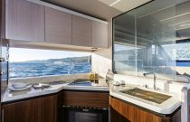 58 Absolute Yacht Galley
