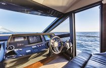 Absolute Yachts 58 FLY Interior Helm