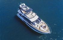 Absolute 58 Flybridge Aerial Image