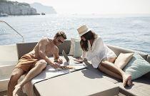 Prestige Yachts 460S Bridge Sunpad Lounge