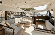 Prestige Yachts 460S Large Electric Sunroof