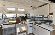 Prestige Yachts 460S Galley Aft