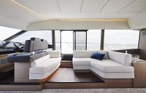 Prestige Yachts 590 Aft Helm Additional Sofa Seating