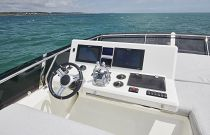 Prestige Yachts 590 Bridge Helm Electronics