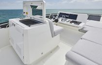 Prestige Yachts 590 Flybridge Bridge Wetbar and Grill