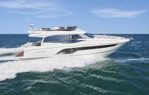 Prestige Yachts 590 Starboard Side Running Image