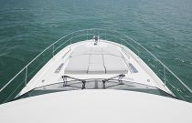 Prestige Yachts 590 Flybridge Windshield View