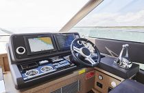 Prestige Yachts 590 Lower Helm Displays