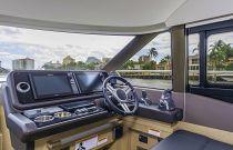 Prestige Yachts 460 FLY Helm Electronics