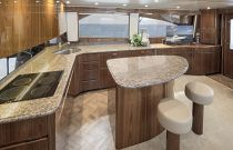 Viking Yachts 62C Galley Island