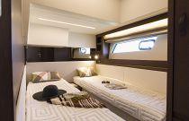 Prestige Yachts 520 FLY Sliding Bunk Beds 3rd Stateroom