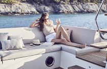 Prestige Yachts 520 FLY Outdoor Sofa
