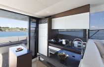 Prestige Yachts 520 FLY Galley