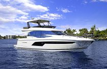 Prestige Yachts 520 FLY Large Hull Through Windows