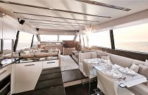 Prestige Yachts 680 FLY Galley and Dinette