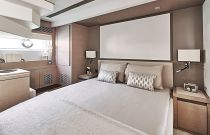 Prestige Yachts 680 FLY Master Room Queen Bed
