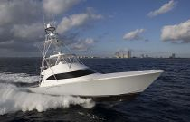 Viking Yachts 62 Convertible Starboard Side Running