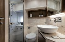 Absolute Yachts 52 Navetta Stall Shower