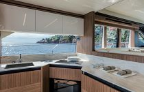 Absolute Yachts 52 Navetta Galley Photo