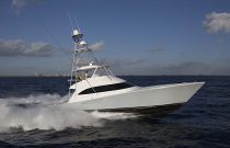 Viking Yachts 62 Convertible Running