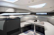 Princess R35 Convertible Cabin Table