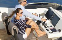 Prestige Yachts 630S Companion Seat Helm