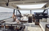 Prestige Yachts 630S Salon FWD