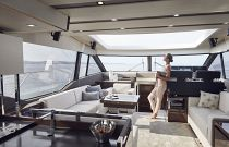 Prestige Yachts 630S Salon Forward Image