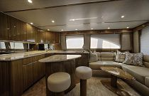 Viking 52C Salon Aft