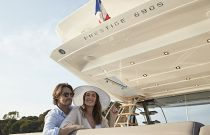 Prestige Yachts 680S Sun Protecting Overhang