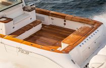 HCB Hydra-Sports 65 Teak Coaming Board