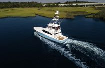Viking Yachts 58C Aerial Photo
