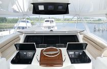 Viking Yachts 92C Electronics Helm