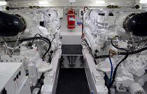 Viking Yachts 58C Engine Room