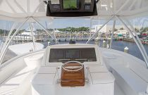 Viking 58C Flybridge Helm Station