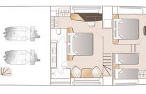 Princess Yachts 85 Deck Layout Accommodations