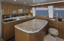 Viking 55 Convertible Galley