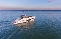 Princess Yachts 60 Express Starboard Idle