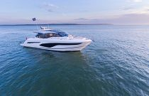 Princess Yachts V60 Starboard Side Idle