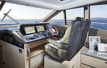 Princess Yachts V60 Twin Adjustable Helm Seating