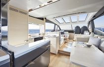 Princess Yachts V60 Electric Sunroof