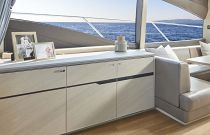Princess Yachts V60 Salon Credenza
