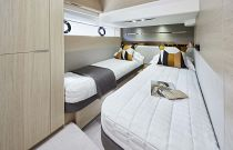 Princess Yachts V60 Twin Berth Cabin