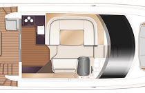 Princess 45 Flybridge Layout 2