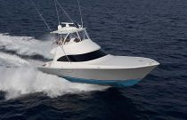 Viking Yachts 48 Convertible Starboard Side Running Shot
