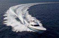 Viking Yachts 48 Convertible Aerial Image